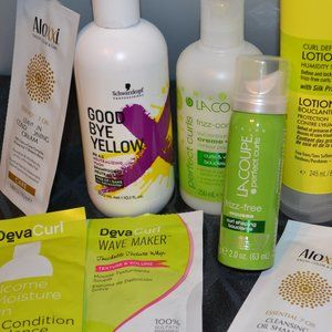 Hair products bundle some new, some opened